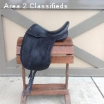 17.5 L'Apogee DL Dressage Saddle