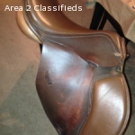 17.5 Thornhill Jorge Canaves Berlin Saddle