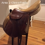 "17"" Butet Monoflap XC Saddle"
