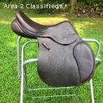 "17"" County Saddlery Innovation Saddle Narrow SR"
