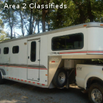 2000 sundowner valulite 4  horse trailer