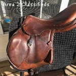 Antares Monoflap Jump Saddle