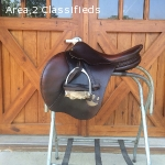 Bruno Del Grange jump saddle for sale