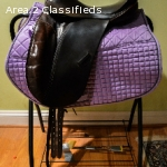 Dark Brown County Competitior Dressage Saddle