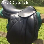 Devoucoux Makila Monoflap Dressage Saddle