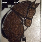 EQUIGLAS equine stained glass