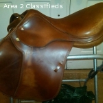 "Great condition Prestige Event Saddle 17"" Medium Tree (32)"
