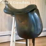 Hennig Dressage Saddle