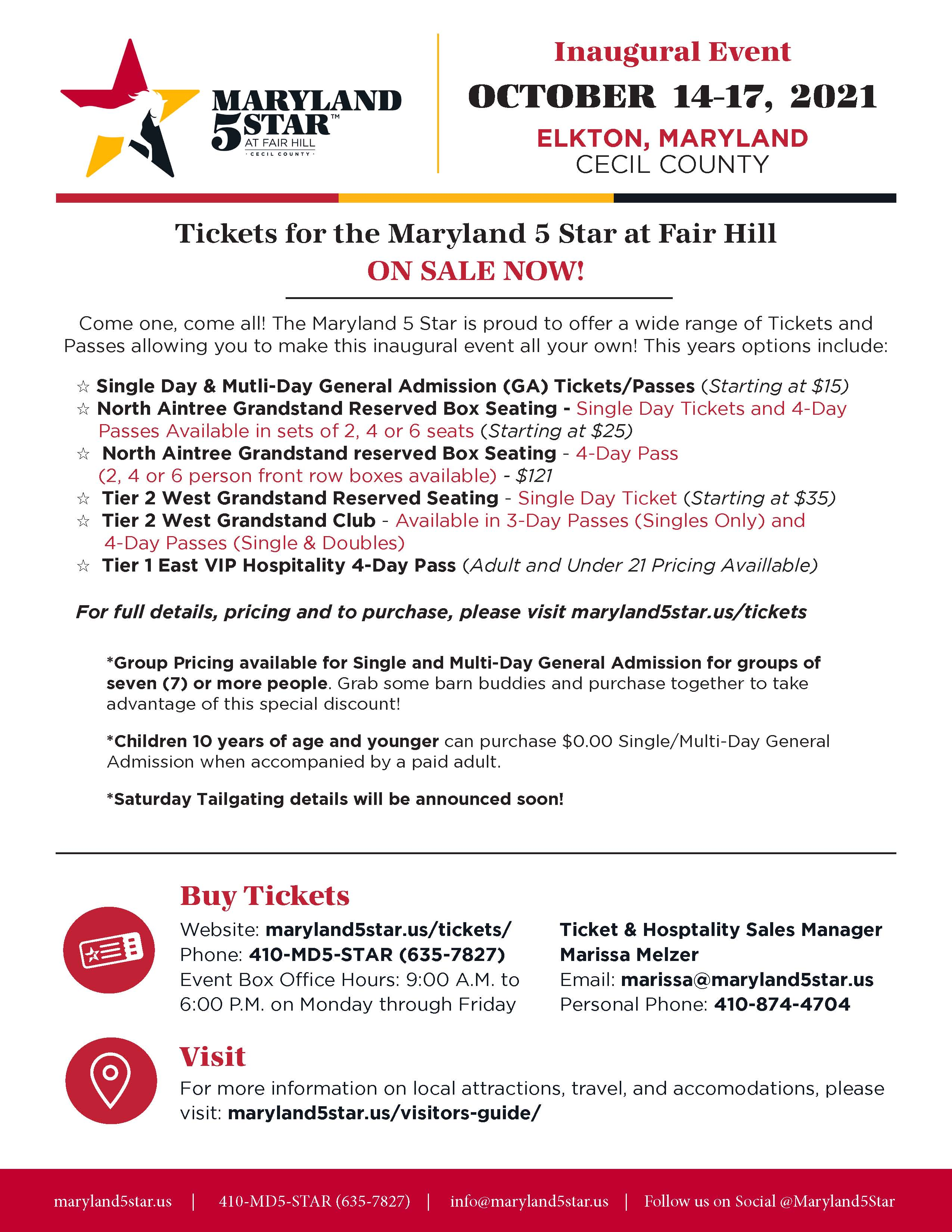Event One Pager Ticket Promotion FINAL