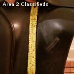 "18"" Bates Caprilli Dressage Saddle with CAIR/gullet system"