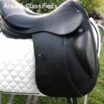 18″ Stubben D Genesis CL NT dressage Saddle
