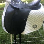 """2013 County Connection dressage saddle  17.5"""""""