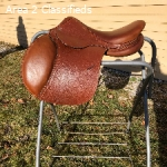 Antares Richard Spooner Close Contact Jump Saddle