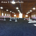 BOARDING AVAILABLE- INDOOR RING