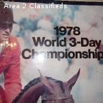 Bruce Davidson 1978 World CH Poster