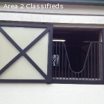Classic Equine Equipment barn windows- Fancy and complete!