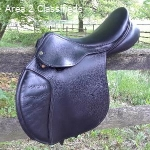 "County Sensation Jump Saddle 17"" N"