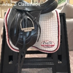 DG Stackhouse Monoflap Dressage Saddle