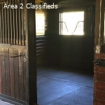 horse barn for rent and appartment