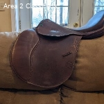 """Wofford Cross Country Classic Jumping Saddle 17.5"""" M Tree"""