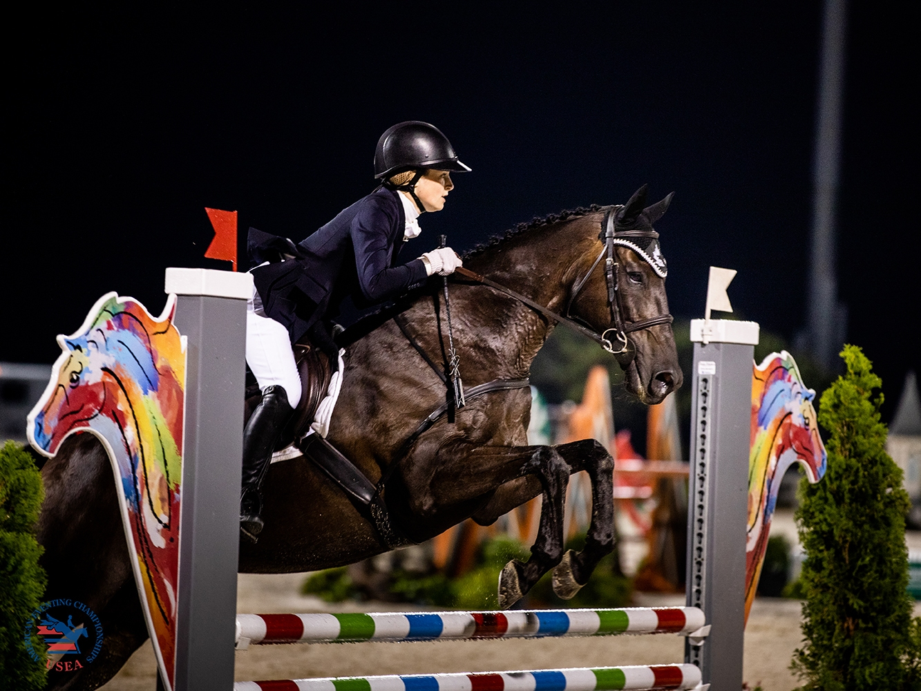 Stephanie Cordell and Codename Toby at 2019 AEC